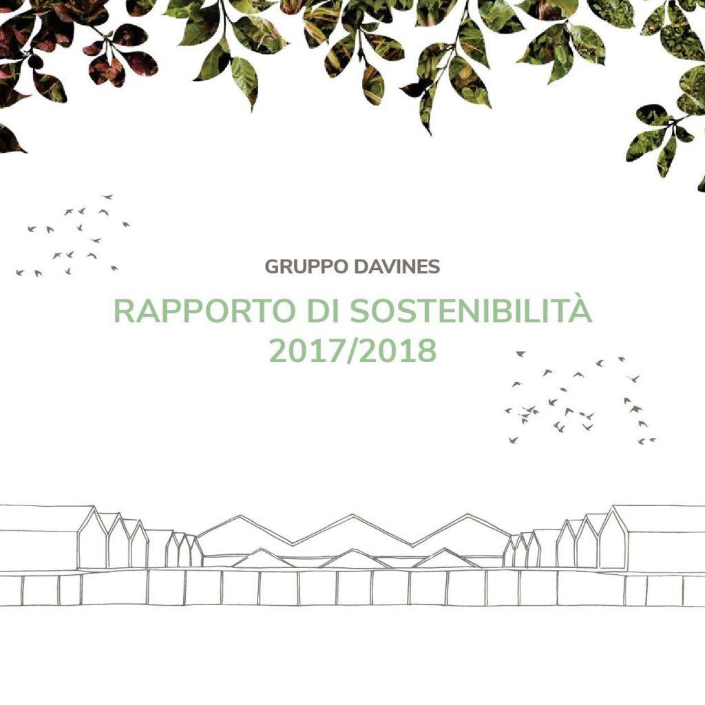 informe de sostenibilidad Davines 2018