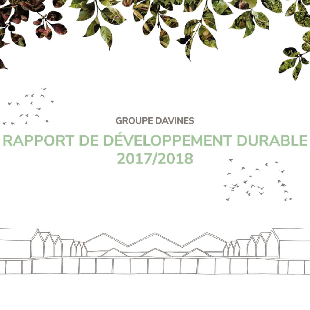 DAVINES SUSTAINABILITY REPORT 2015